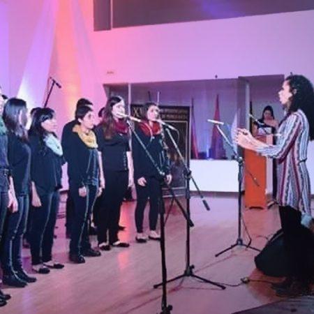 MAESTRA EN MÚSICA - MARIA MÓNICA SÁENZ MOLINA- Universidad del Valle, coro 1