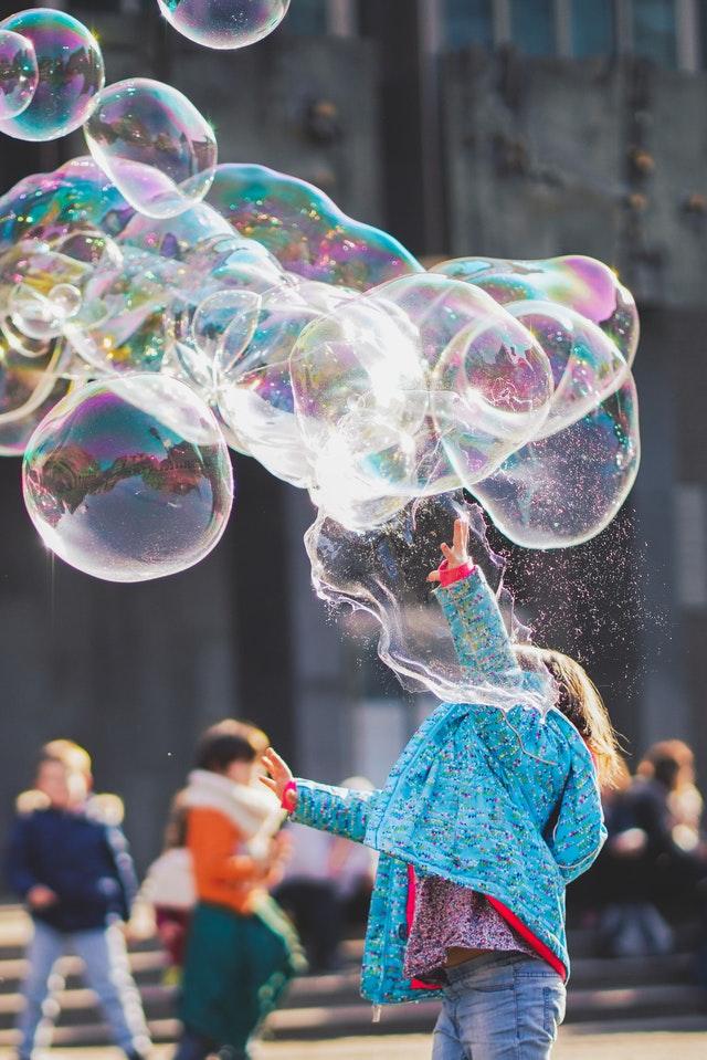 Creatividad burbujas