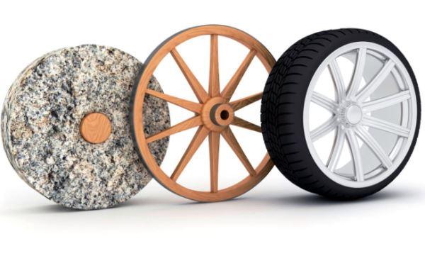 Evolución de la rueda