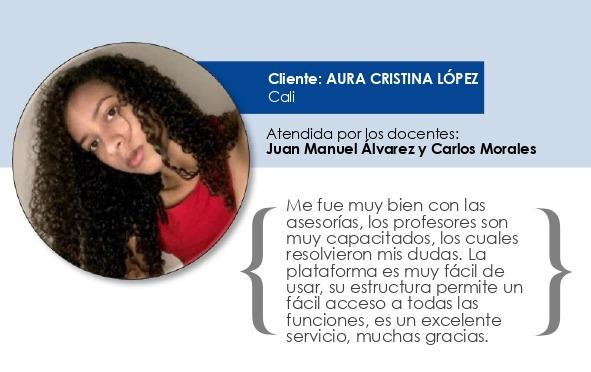 Testimonio Aura Cristina López Carabalí