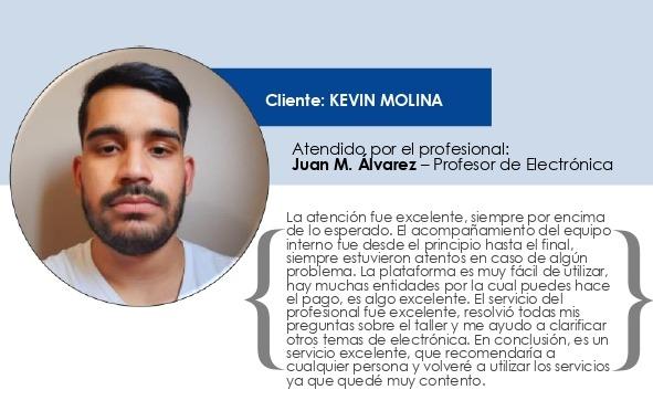 Testimonio Kevin Molina