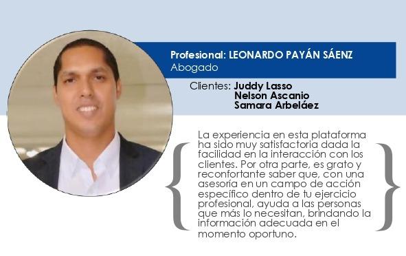 Testimonio Leonardo Payán