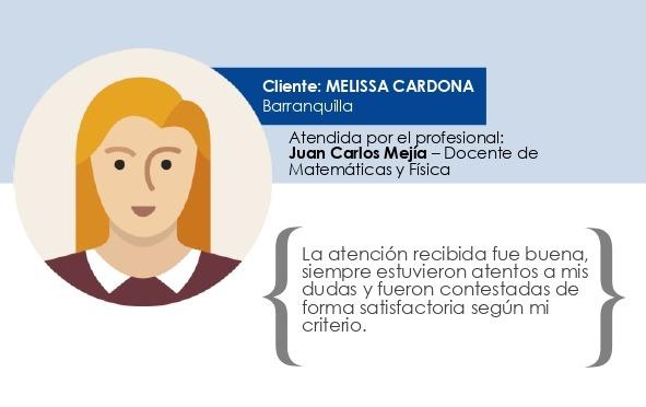 Testimonio Melissa Cardona