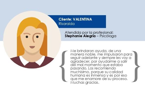 Testimonio Valentina