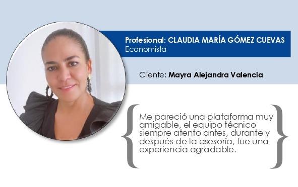 Testimonio Claudia María Gómez Cuevas