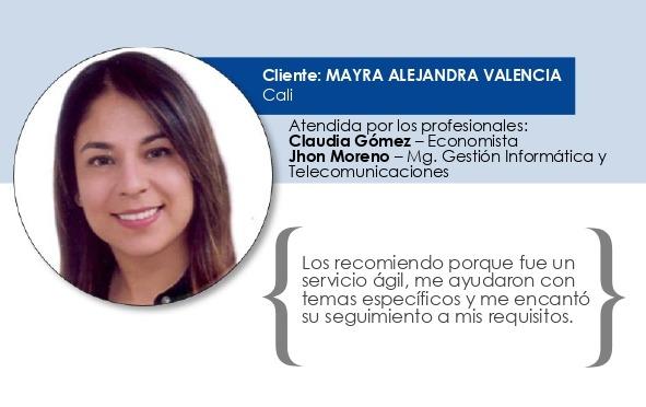 Testimonio Mayra Alejandra Valencia Vinasco