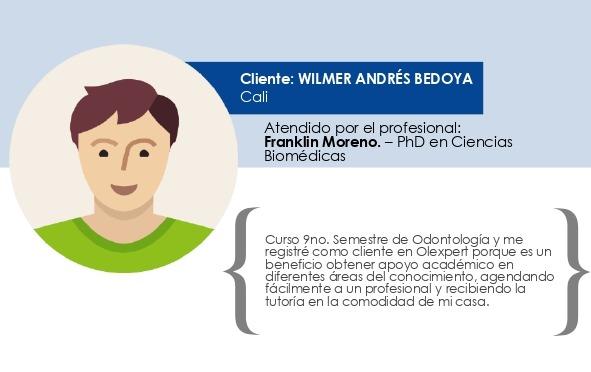 Testimonio Wilmer Andrés Bedoya