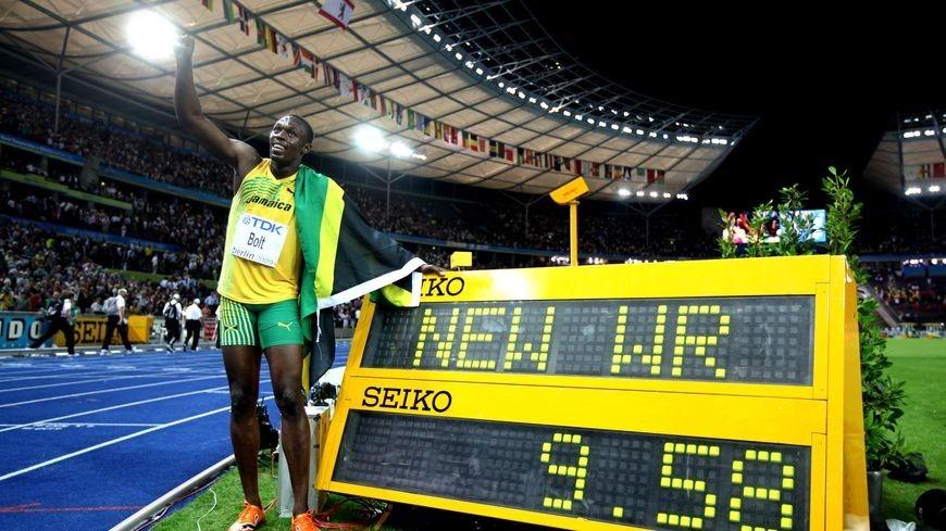 Usain Bolt 16 de agosto del 2006
