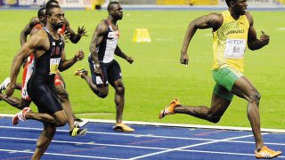 Usain Bolt final de los 100 metros